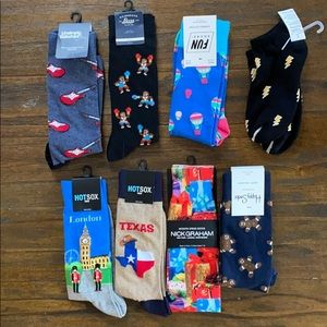 8 Pairs of Men's Socks NWT